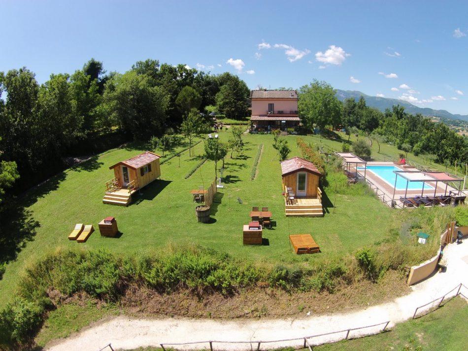 Te koop: Succesvolle agriturismo, appartementen, camping en glamping in Italië